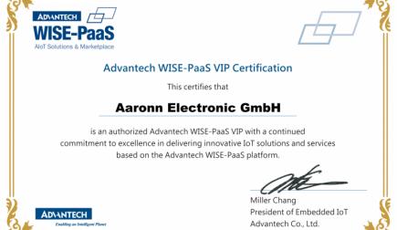 Aaronn Electronic wird Pionier für WISE-PaaS in Europa