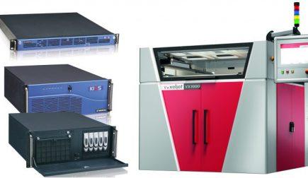 """Individuelle 19"""" Rackmount Server für industrielle 3D-Drucker"""