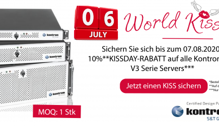 WORLD KISS DAY: 10% auf ALLE KONTRON KISS V3 Serie Servers